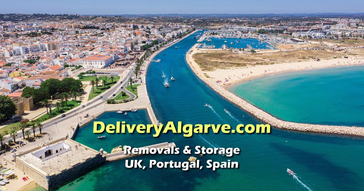 DeliveryAlgarve - Removals & Storage UK, Spain, Portugal OG01