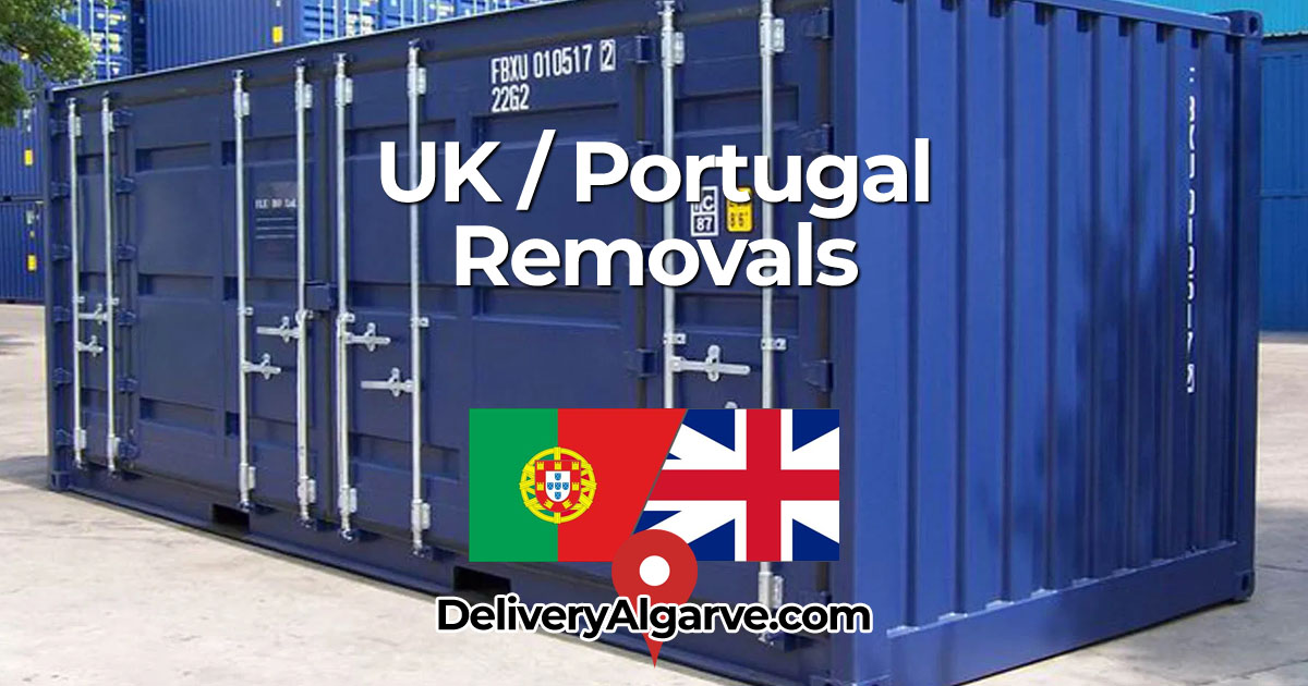 UK Portugal Removals Service - DeliveryAlgarve_com OG02