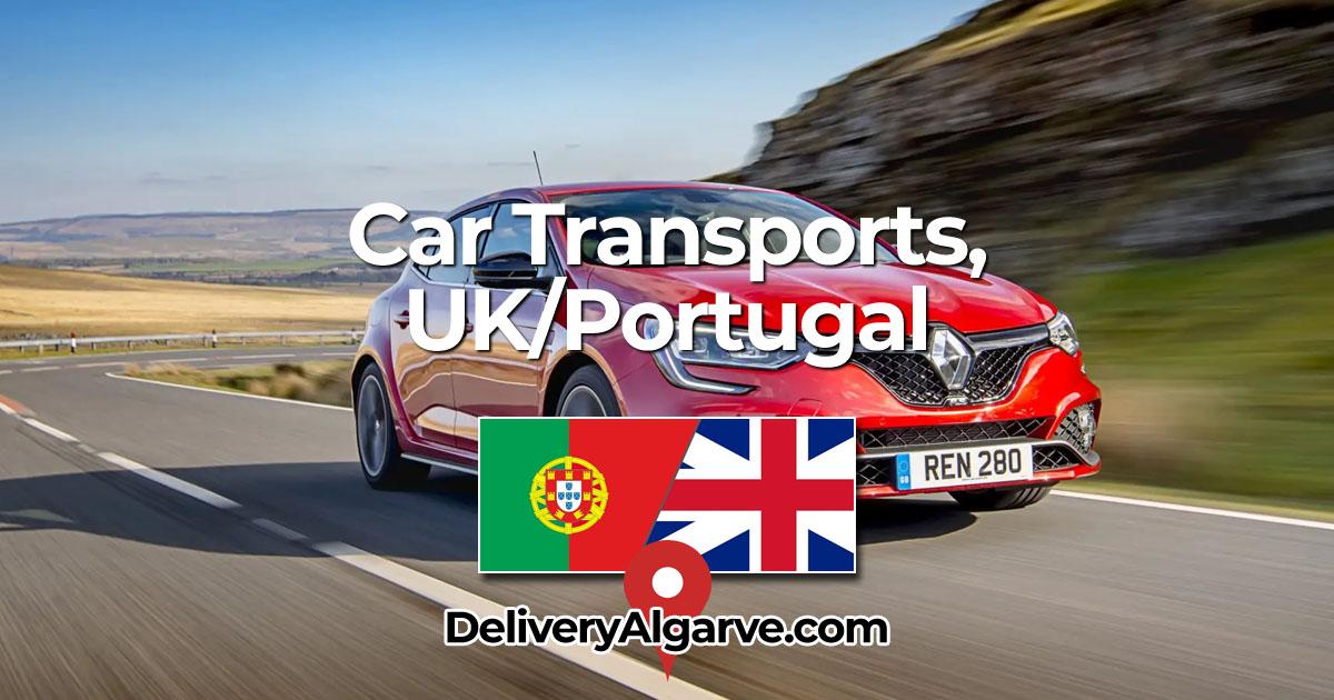 Car Transport Service UK Portugal - DeliveryAlgarve OG01