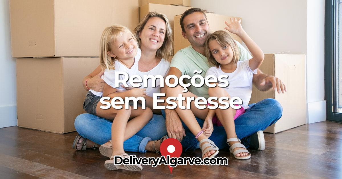 DeliveryAlgarve - Serviço de remoção e armazenamento sem estresse, Reino Unido e Portugal OG01