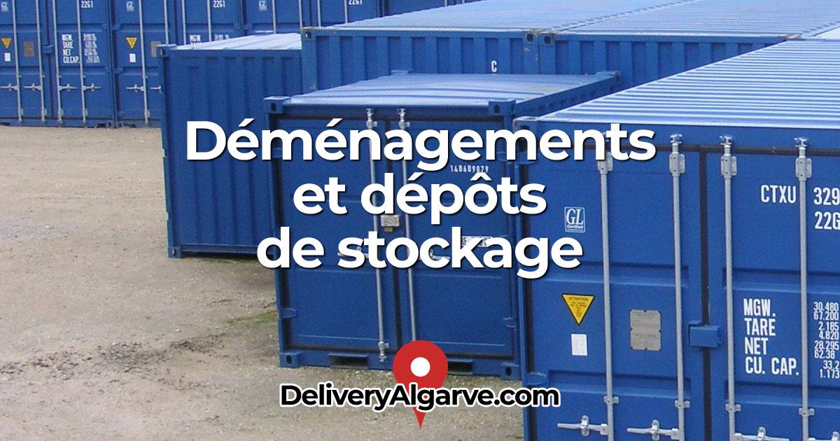 Déménagements et dépôts de stockage - DeliveryAlgarve OG01