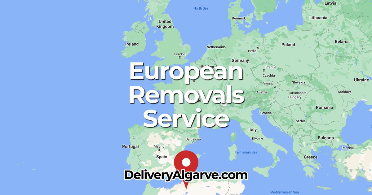European Removals Service - DeliveryAlgarve OG01