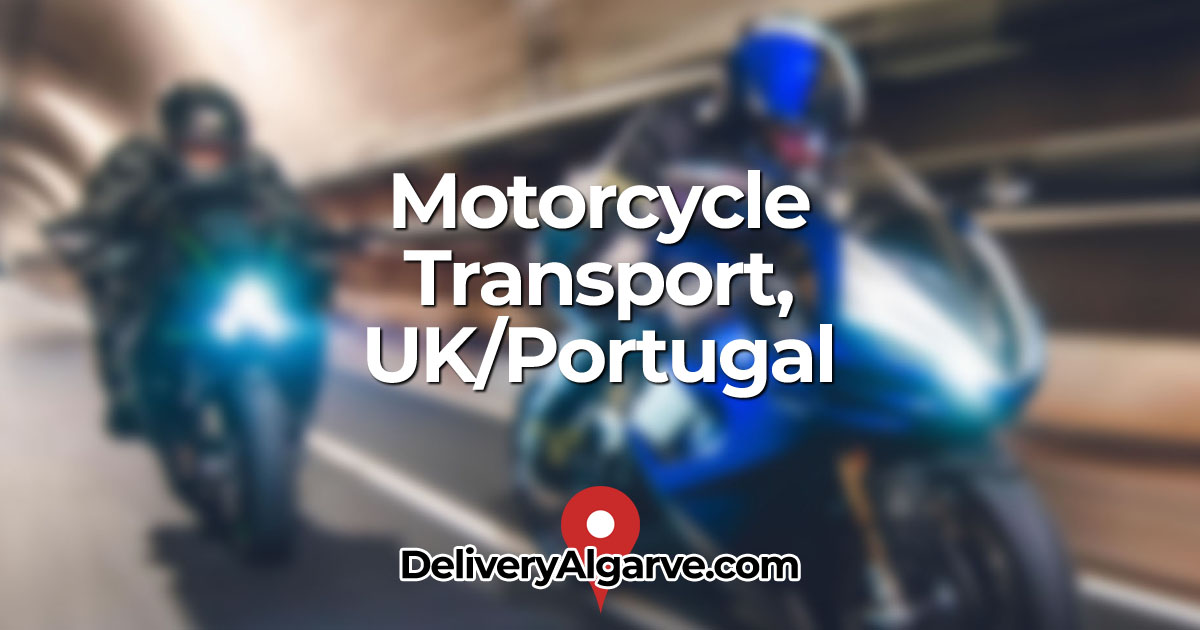 Motorcycle Transport UK Portugal - DeliveryAlgarve OG01