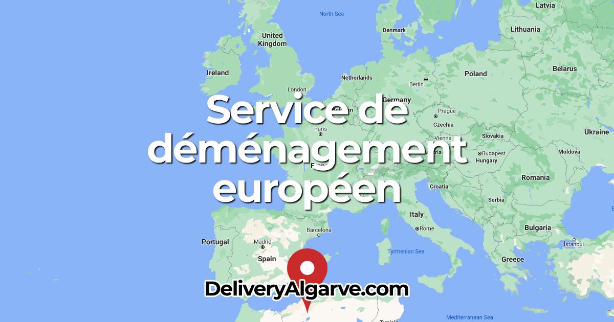 Service de déménagement européen - DeliveryAlgarve OG01