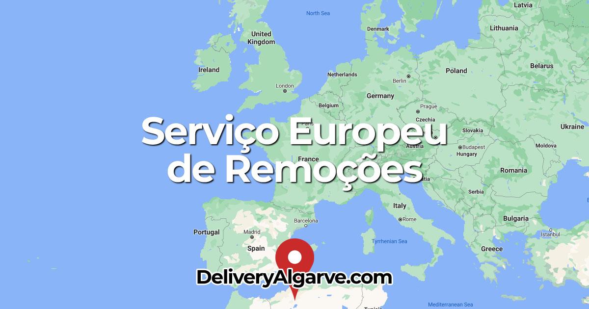 Serviço Europeu de Remoções - DeliveryAlgarve