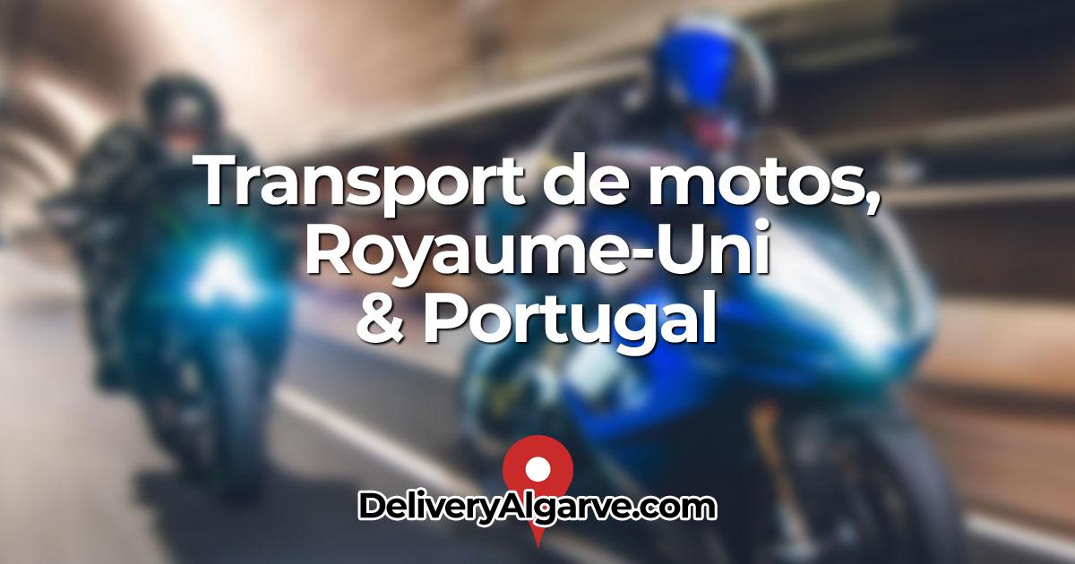 Transport de motos Royaume-Uni Portugal - DeliveryAlgarve OG01