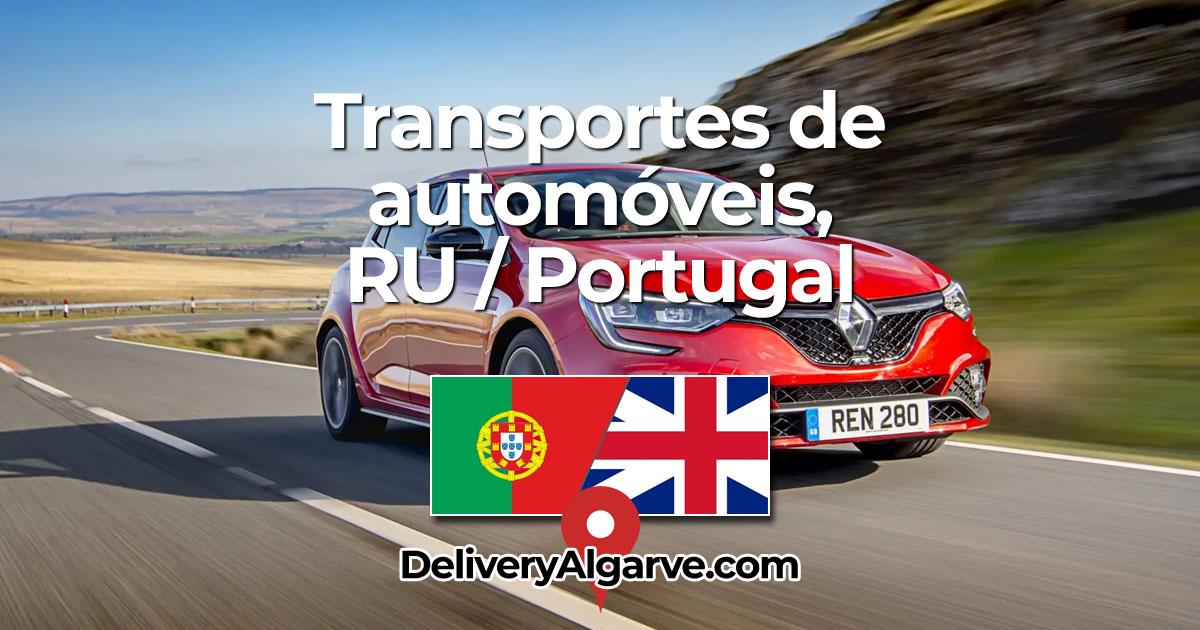 Transportes de automóveis - DeliveryAlgarve OG01